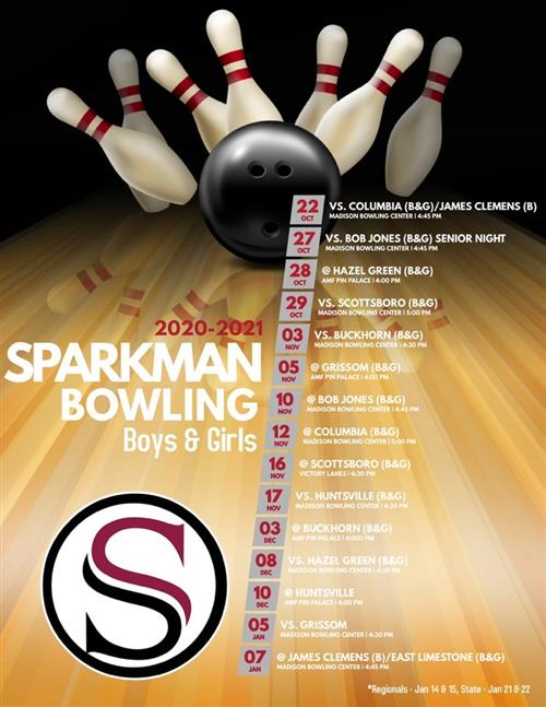 Bowling Schedule