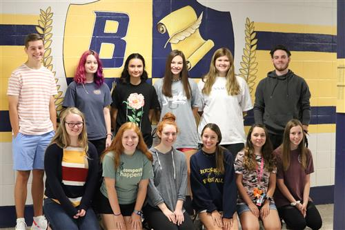 2019 Yearbook Staff