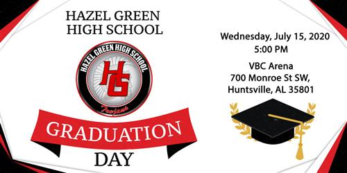HGHS graduation graphic
