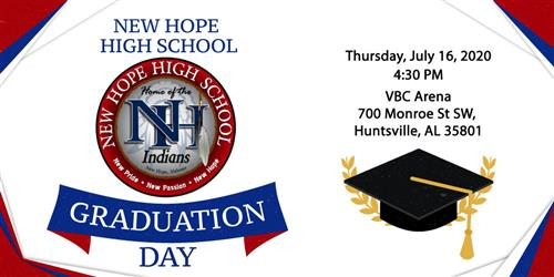 NHHS Graduation graphic