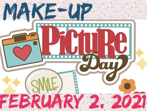 The new makeup/retake picture day is February 2nd.